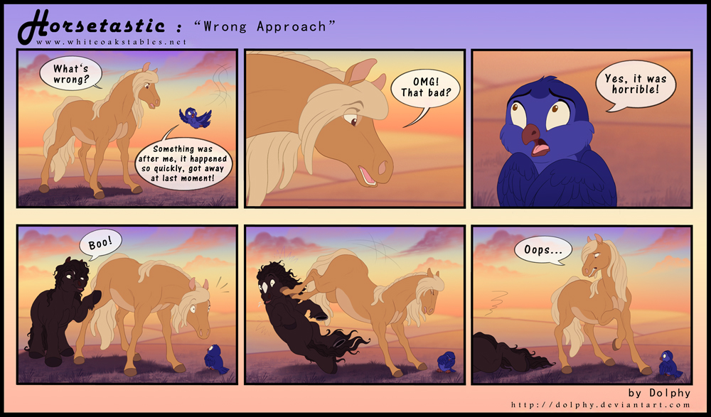 Horsetastic - Wrong Approach by DolphyDolphiana