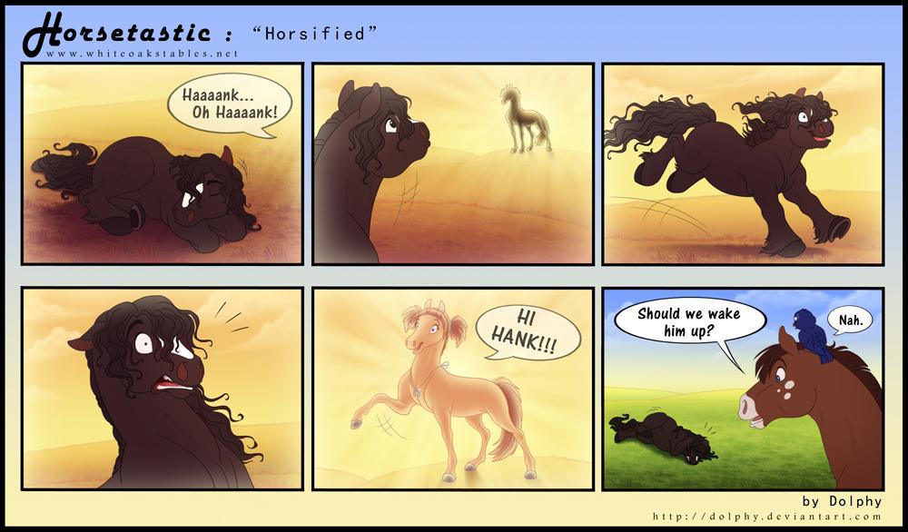 Horsetastic - Horsified by DolphyDolphiana