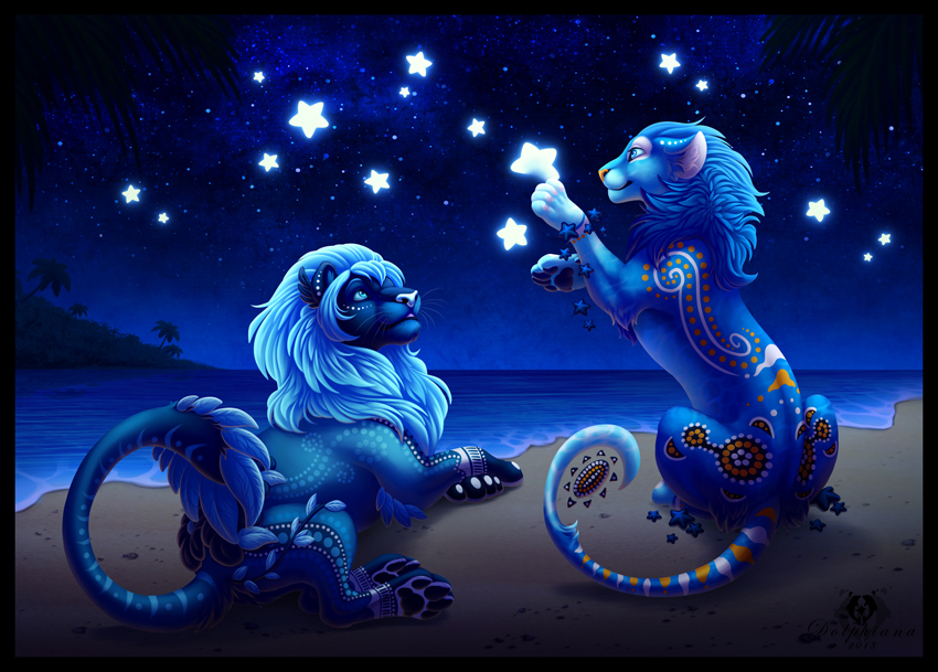 Painting the Stars by DolphyDolphiana