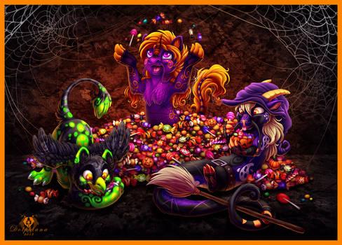 Halloween Candy by DolphyDolphiana