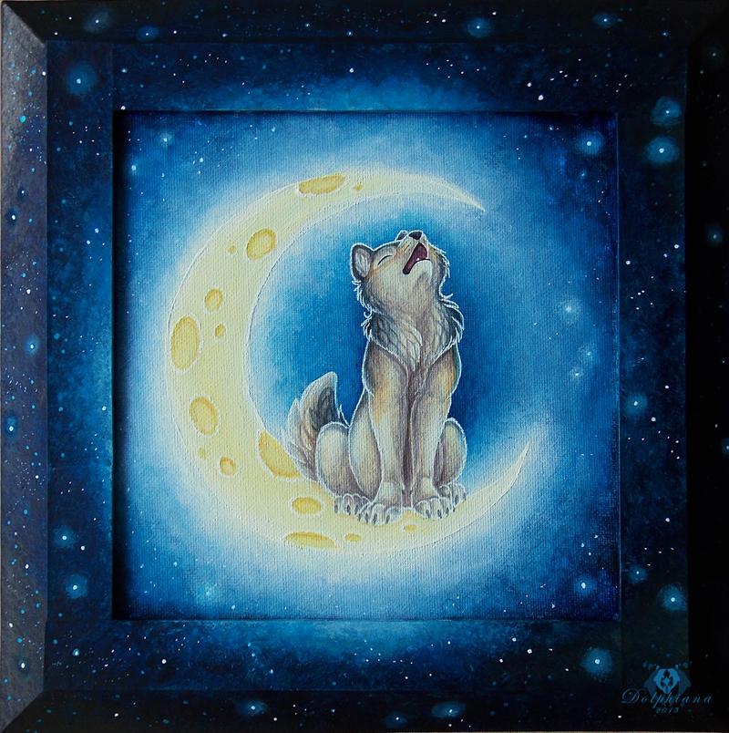 WolfMoon by DolphyDolphiana