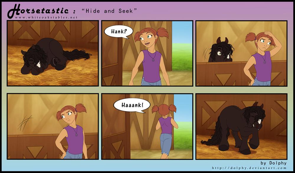Horsetastic - Hide and Seek by DolphyDolphiana