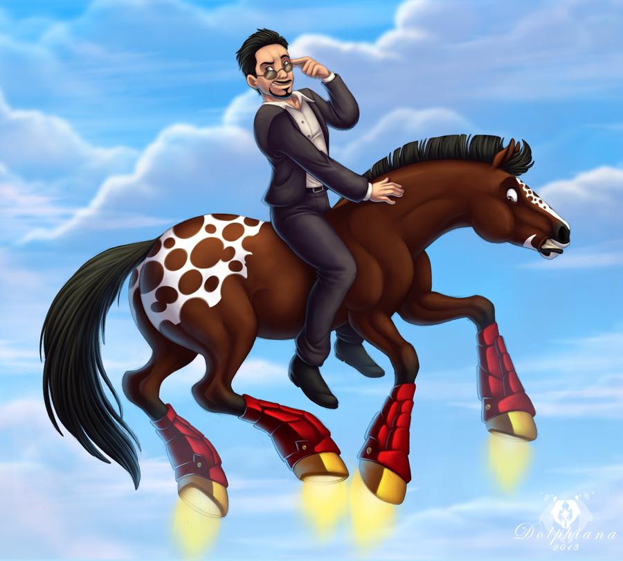 Pimp My Horse by DolphyDolphiana