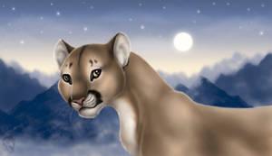Cougar by DolphyDolphiana