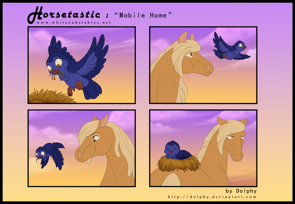 Horsetastic - Mobile Home by DolphyDolphiana