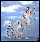 Silver Cheetah by DolphyDolphiana