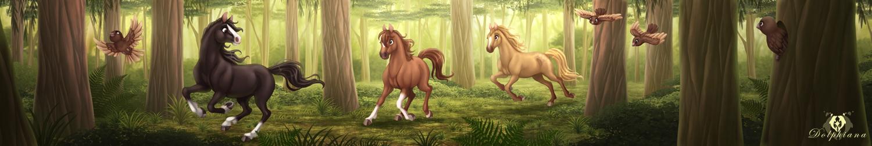 Horse Banner by DolphyDolphiana