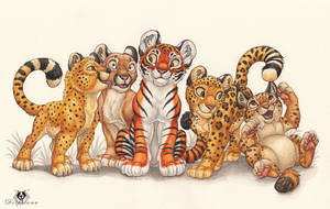 Cubbie Group by DolphyDolphiana