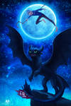 Jack and Toothless