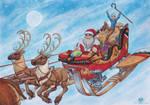Christmas Sleighride by DolphyDolphiana