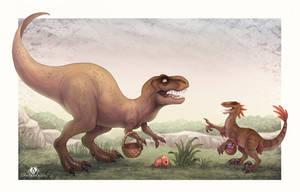 Jurassic Easter