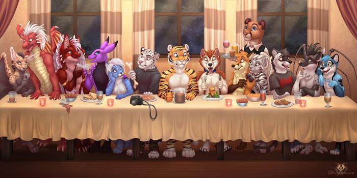 Furry Group Dinner