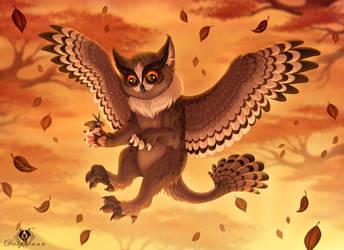 Owlcat by DolphyDolphiana