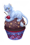 Dolphy Cupcake - Commissions