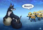 New Boss by DolphyDolphiana