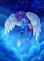 Moonlit Flight by DolphyDolphiana