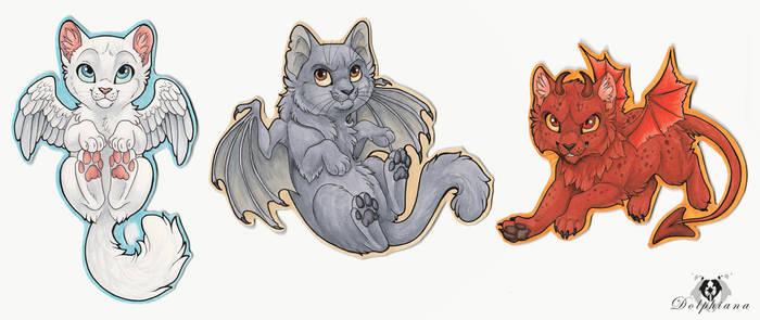 Winged Kitties