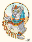 Egyptian Dolphy - Badge