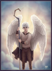 Guardian Angel Jack Frost by DolphyDolphiana