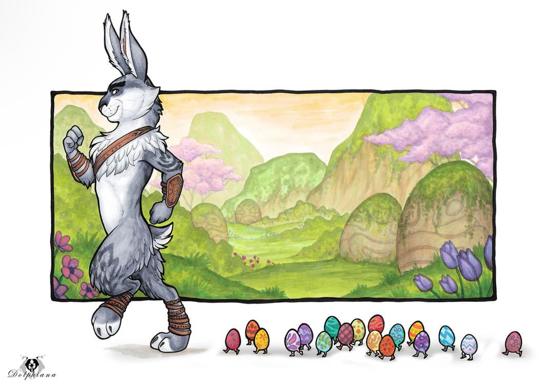 Easter Parade by DolphyDolphiana