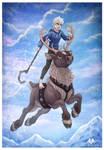 Reindeer Ride by DolphyDolphiana