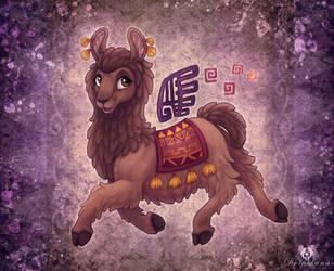 Alpaca by DolphyDolphiana