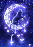 Moon Panther by DolphyDolphiana