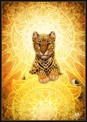 Sun Leopard by DolphyDolphiana
