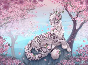 Cherry Blossoms by DolphyDolphiana