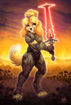 Doom Isabelle by DolphyDolphiana