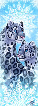 Snowflake Leopards