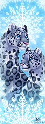 Snowflake Leopards