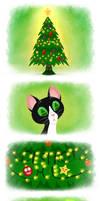 Sheltielicious- Christmas Tree