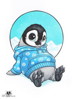 Hoodie Penguin