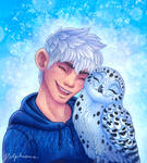 Jack and Snowy Owl