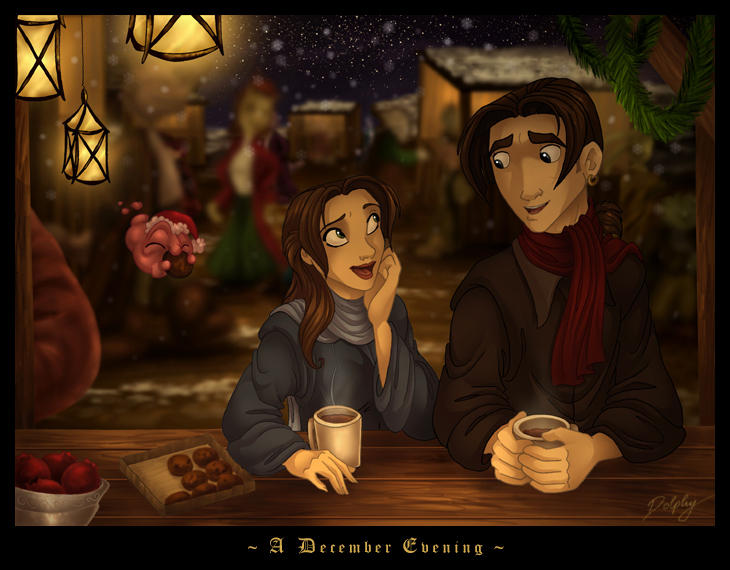 A December Evening by DolphyDolphiana