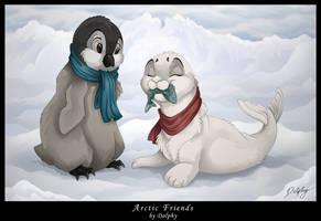 Arctic Friends by DolphyDolphiana