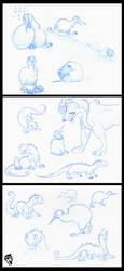 Kiwi Sketchiness by DolphyDolphiana
