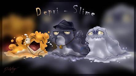 Depri - Slime by DolphyDolphiana