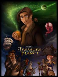 Disney's Treasure Planet by DolphyDolphiana