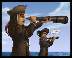 PotC 3 - Telescopes by DolphyDolphiana