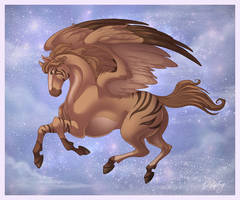 Striped Pegasus