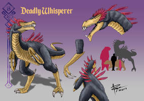 Deadly Whisperer by WilliamThePaladin