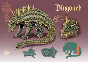 Dingonek by WilliamThePaladin