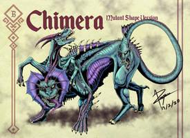 Chimera ver Mutant by WilliamThePaladin