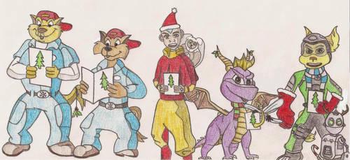 Character Caroling by smartguy123