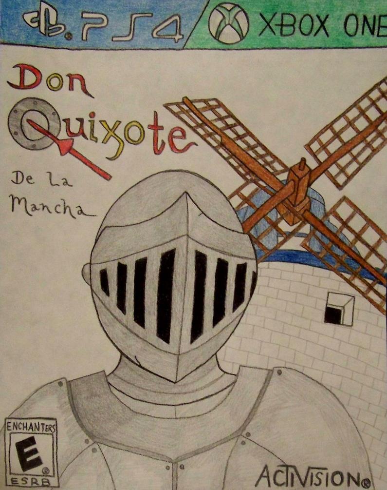 Don Quixote Cover by smartguy123