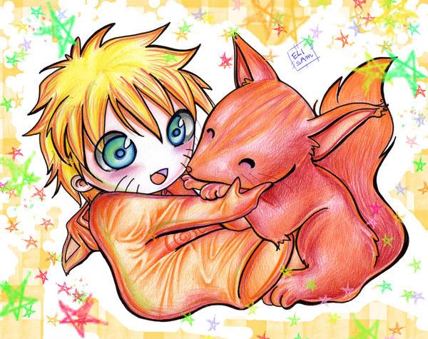 http://fc02.deviantart.com/fs18/i/2007/213/4/3/Naruto_and_the_fox_by_okinuchan.jpg