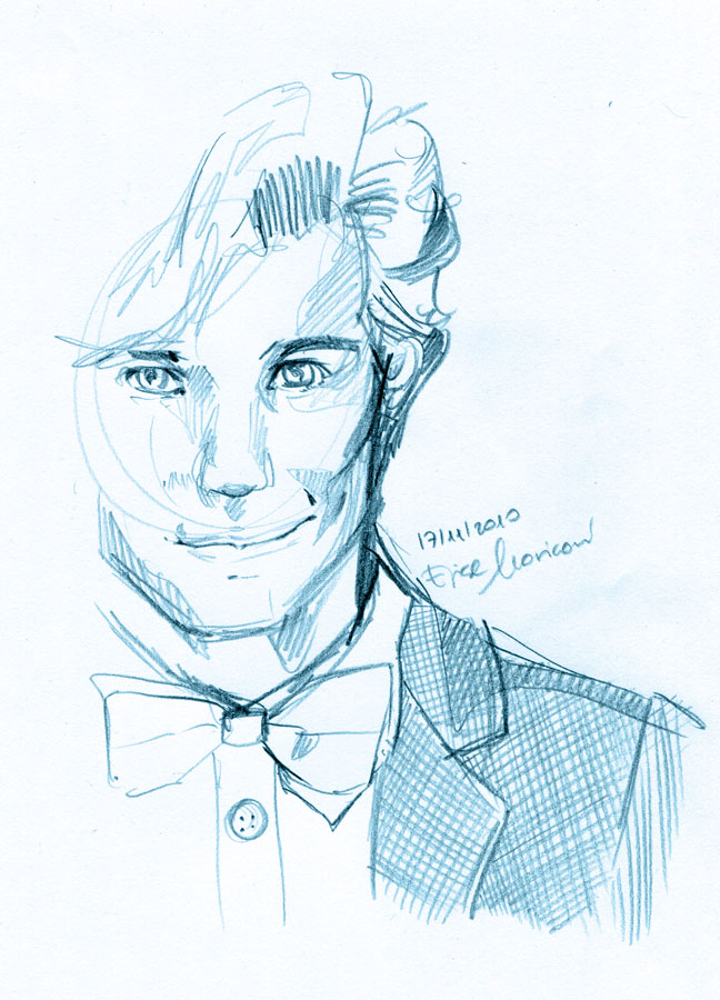 The eleventh Doctor by elisamoriconi