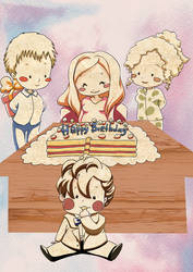 Happy Birthday Karen Gillan by elisamoriconi